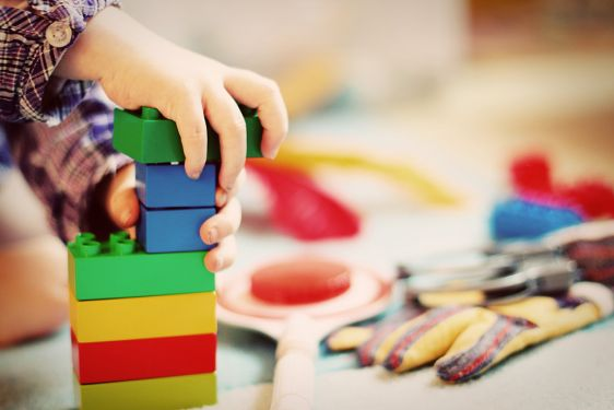 Duplo Drop-In Club at Gosford Library