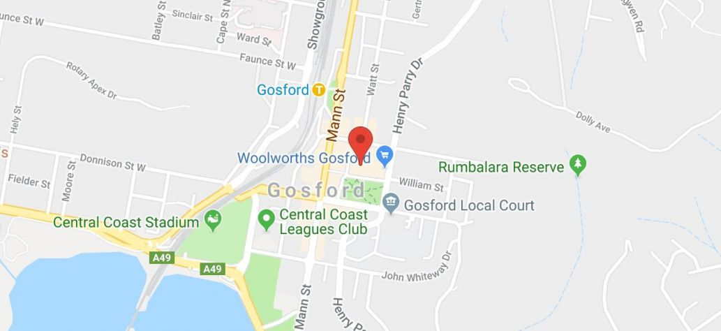View Gosford Smart Work Hub in Google Maps