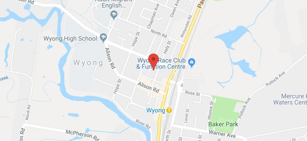 View Wyong Service Centre in Google Maps