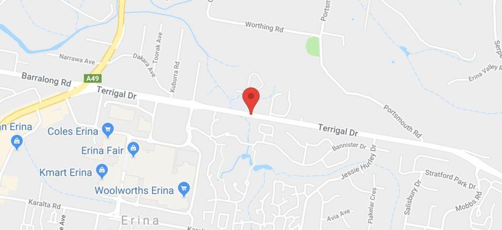 View Erina Centre in Google Maps