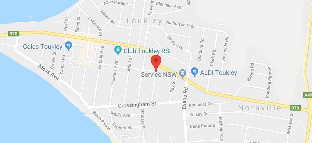 View Toukley Aquatic Centre in Google Maps