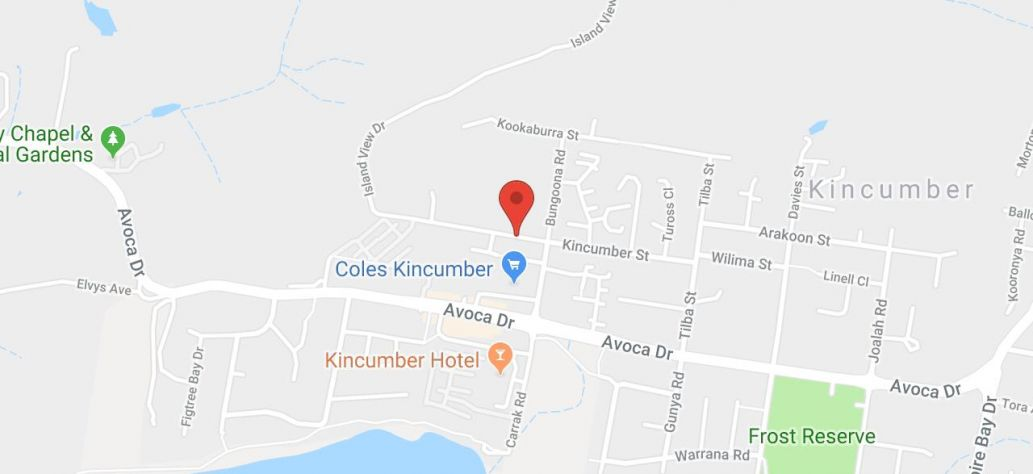 View Kincumber Youth Centre in Google Maps