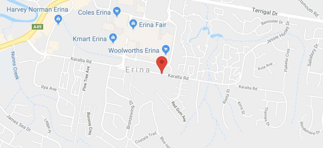 View Erina Trust Community Hall in Google Maps
