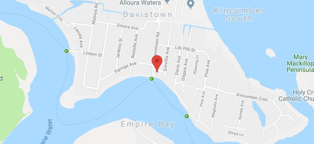 View Davistown Progress Hall in Google Maps