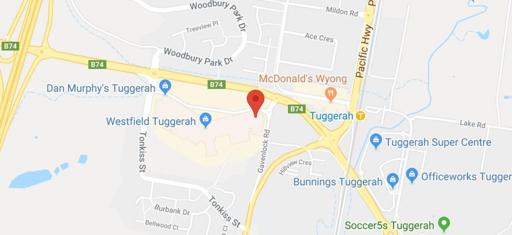 View JP Service at Tuggerah Library in Google Maps