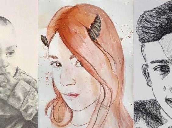 About Face: Gosford Junior Portrait Prize