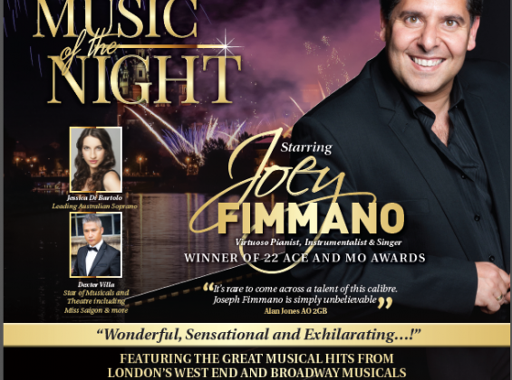 Joey Fimmano's 'Music of the Night'