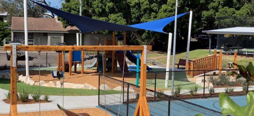 Avoca Heazlett Park Playspace now complete