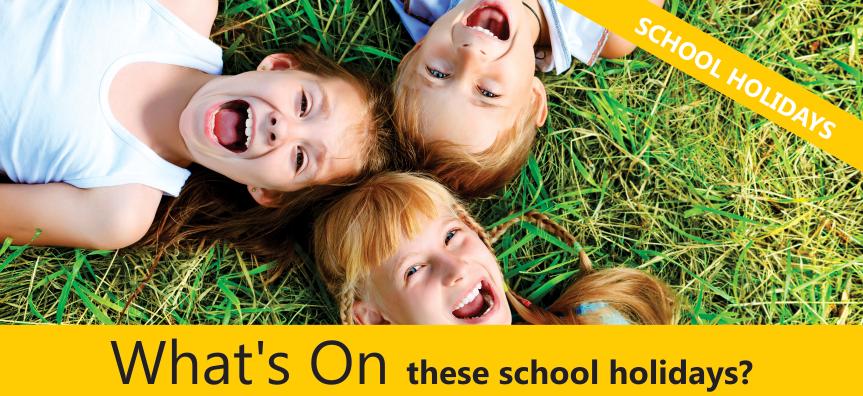 April School Holidays Image