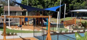 Avoca Heazlett Park Playspace now complete