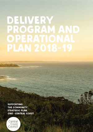 Delivery and operational plan front cover image
